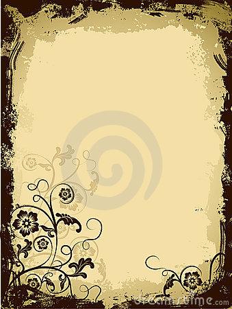 free flower clip art borders.