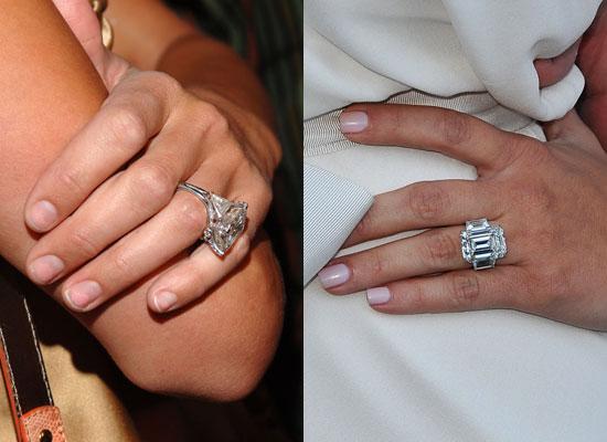 But when I saw Kim Kardashian's 205carat engagement ring I wondered if